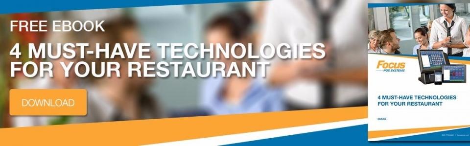 Technologies For Your Restaurant