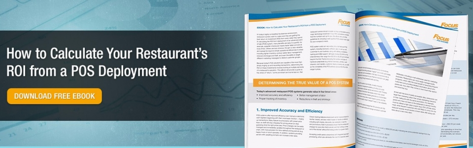 Focus POS Calculate Your Restaurants ROI Slider